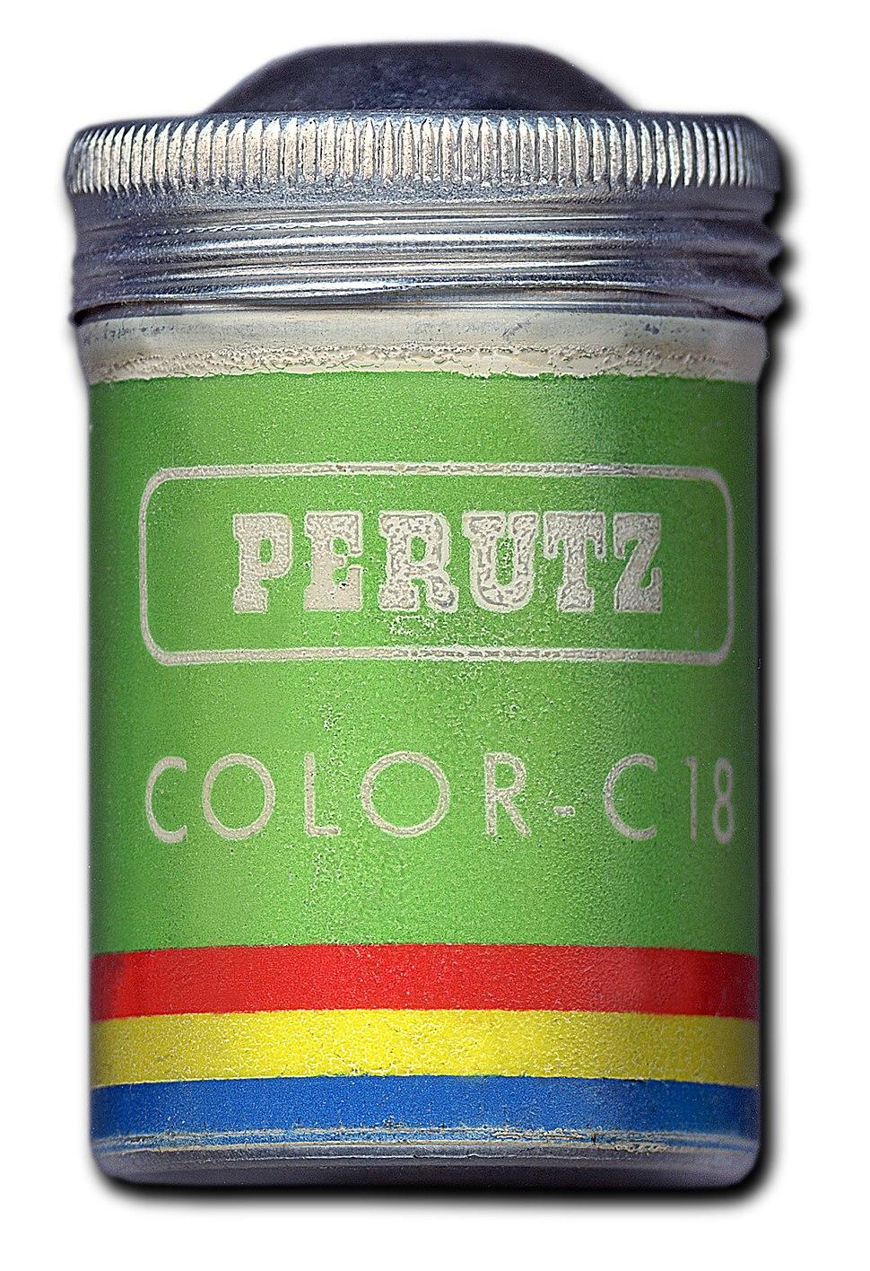 Filmdose Perutz C 18