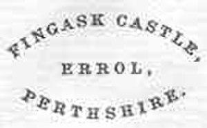 Fingask Castle - Fingas Castle letterhead