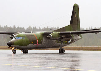 Finnish Defence Intelligence Agency - Image: Finnish Air Force F 27 400M
