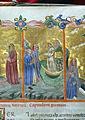 Firenze, commedia di dante, codice miniato da simone camaldolese e aiuti, purgatorio canto I, 1398, tempi 1, c. 32r, 05.JPG