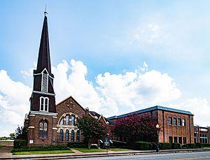 First Presbyterian Church (Palestine, Texas) - Church in 2011
