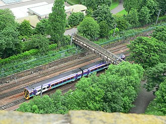 ScotRail (National Express) - Image: First Scot Rail 158709 2005 06 17 01