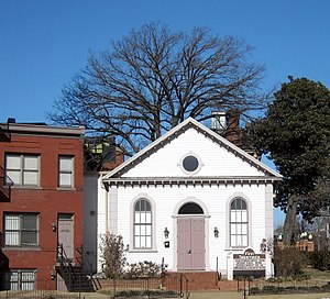 Black Hebrew Israelites - The former headquarters of the Church of God and Saints of Christ in Washington, D.C. The building is now known as First Tabernacle Beth El and it is listed on the National Register of Historic Places.
