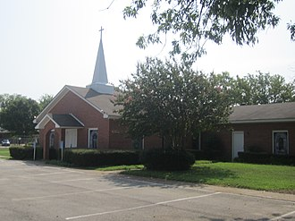 Murchison, Texas - First United Methodist Church on Texas State Highway 31 in Murchison