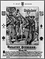 First division, regulars - Infantry divisions - Enlist for infantry, cavalry, field artillery (...) LCCN2002698590.jpg