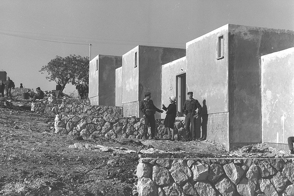 First houses in Biranit 1964