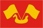 Flag of Kirovsk rayon (Leningrad oblast).png