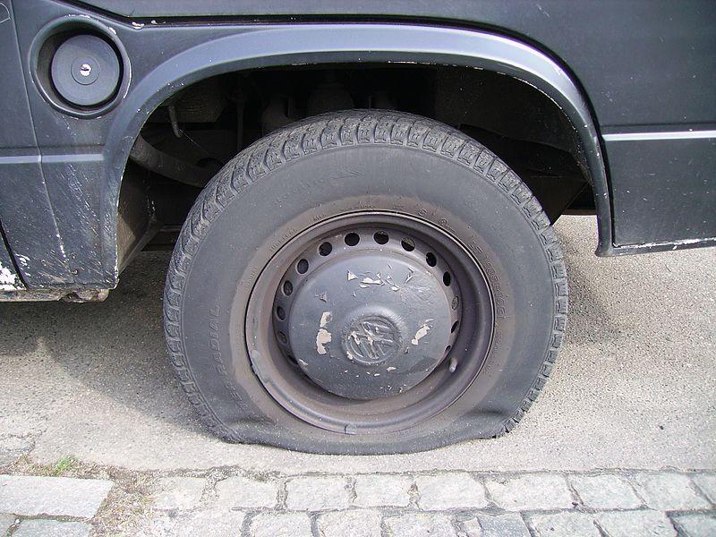 File:Flat Tyre.jpg