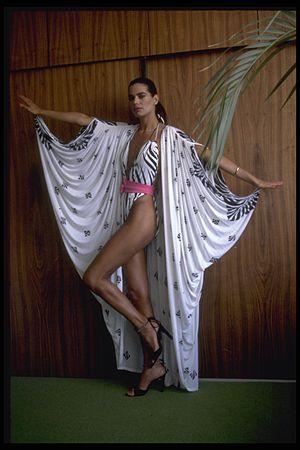 Israeli fashion - Israeli model Tami Ben Ami modelling a Gottex swimsuit