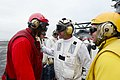 Flickr - Official U.S. Navy Imagery - VCNO speaks with a Sailor..jpg