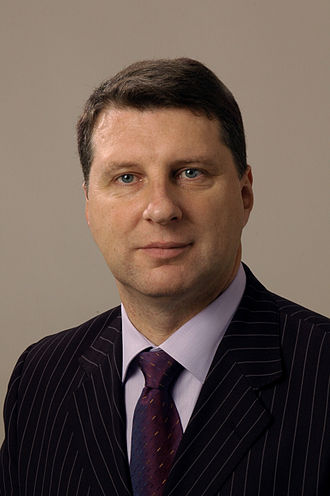 Green party - Raimonds Vējonis, President of Latvia