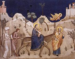 Flight into Egypt assisi.jpg