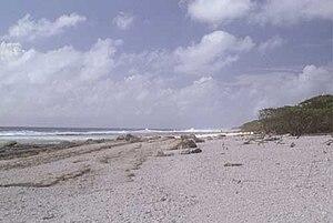 Flint Island - Image: Flint Island AKK Beach