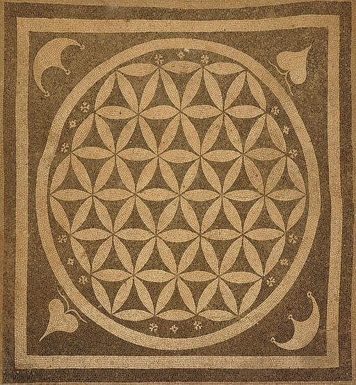 Flower of life ephesos square