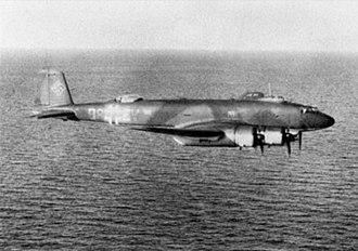 Maritime patrol aircraft - German Focke-Wulf Fw 200 Condor on patrol