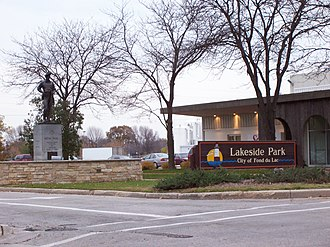 Fond du Lac, Wisconsin - Lakeside Park entrance