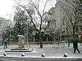 Font de la Granota (Diagonal) nevada 2010.jpg
