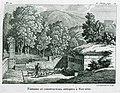 Fontaine et constructions antiques à Navarin - Castellan Antoine-laurent - 1808.jpg