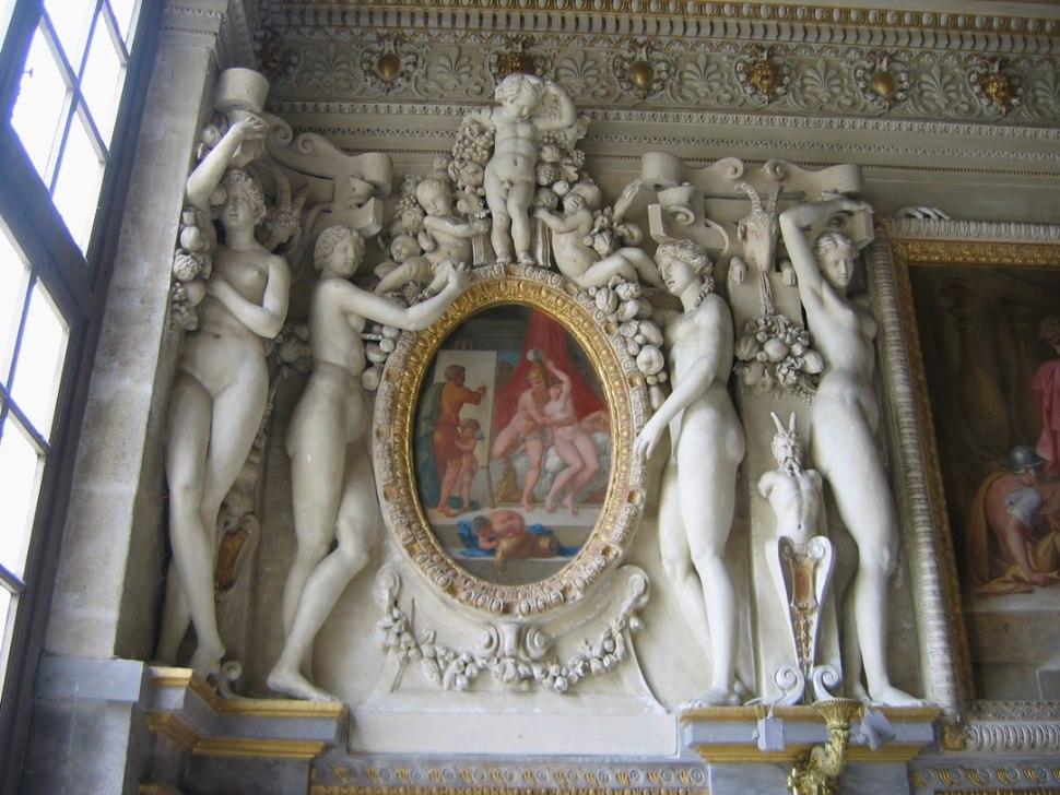 Fontainebleau escalier roi5