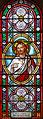 Fontenilles (Mazeyrolles) - Église Saint-Clair - Vitraux -5.JPG