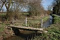 Footbridge, Monkland Common - geograph.org.uk - 367172.jpg