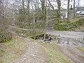 Footbridge and Ford at Rakefoot - geograph.org.uk - 138345.jpg