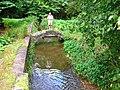 Footbridge over the Burn of Burnside, Delgaty Castle - geograph.org.uk - 608056.jpg