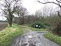 Footpath junction - geograph.org.uk - 1135672.jpg