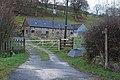Footpath past Llanfadog Uchaf farm - geograph.org.uk - 1596385.jpg