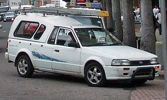 Ford Bantam - Ford Bantam second generation, also sold as the Mazda Rustler
