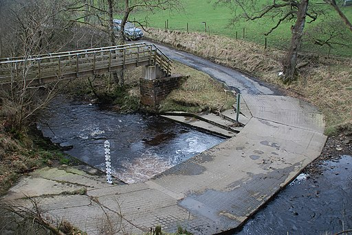 Ford at Holmehead (geograph 4388172)