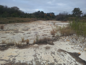 Fort Lincoln, Texas - Seco Creek in front of the fort