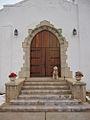 Fort Reno chapel + dog (4252034797).jpg