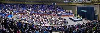 Fort Worth Convention Center - Interior of arena