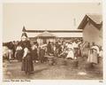 Fotografi på fiskmarknad i Lissabon - Hallwylska museet - 107293.tif