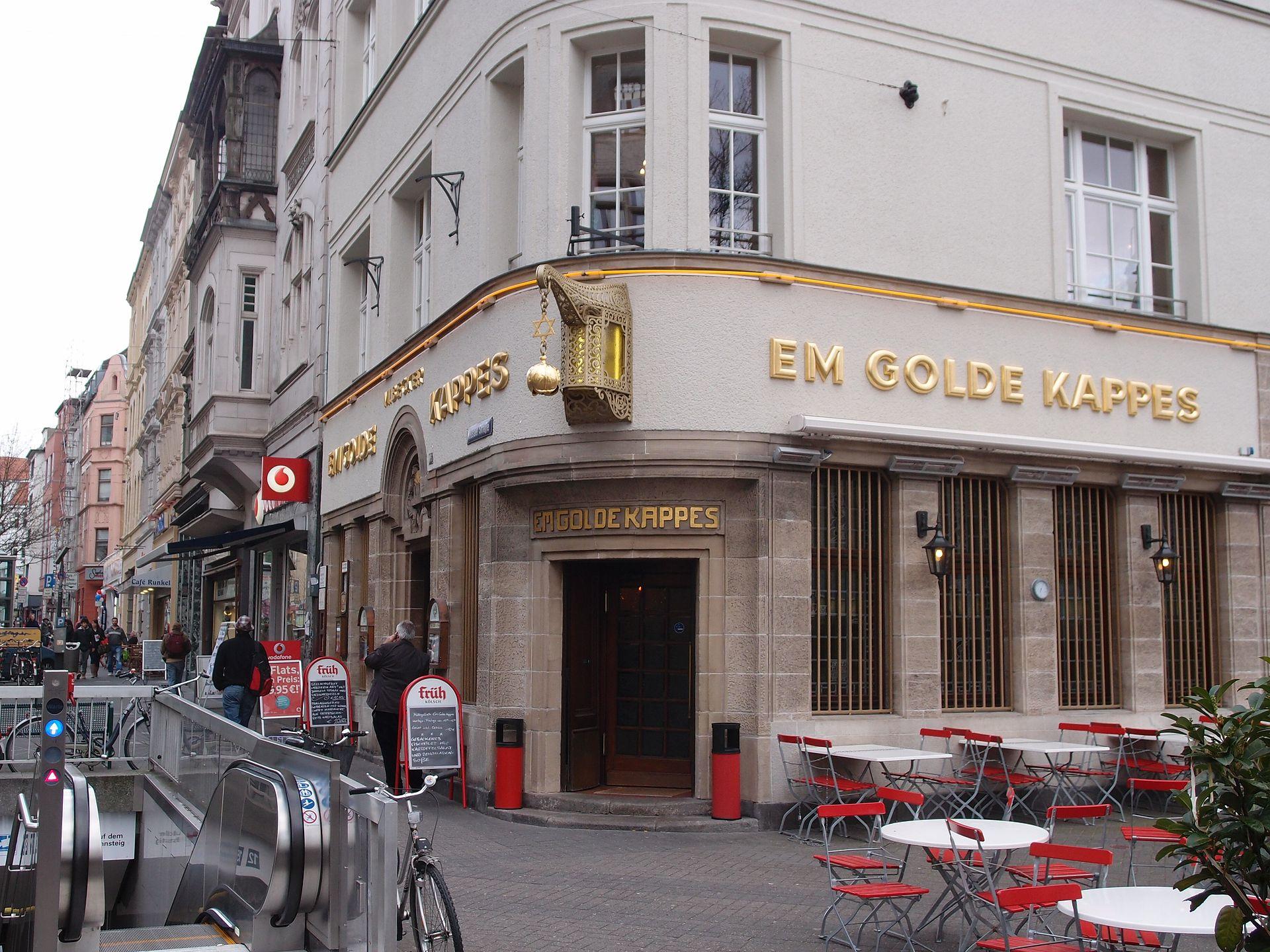 Goldene Kappes