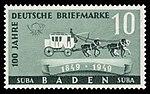 Fr. Zone Baden 1949 54 Postkutsche.jpg