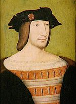 Francis I painted in 1515