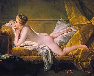 1752 in art - François Boucher, Marie-Louise O'Murphy