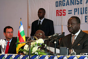François Bozizé - Bozizé at the Security Sector Reform Meeting in Bangui