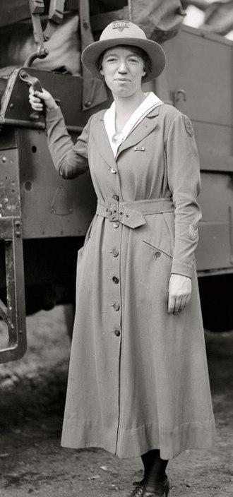 Frances Gulick - Frances Gulick in 1919