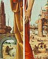 Francesco del Cossa - Griffoni Polyptych - St Peter and St John the Baptist (details) - WGA05384.jpg