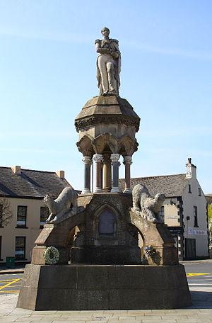 Francis Crozier - Francis Crozier monument in Banbridge