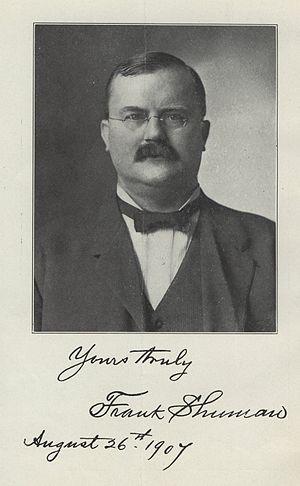 Frank Shuman - Frank Shuman in 1907