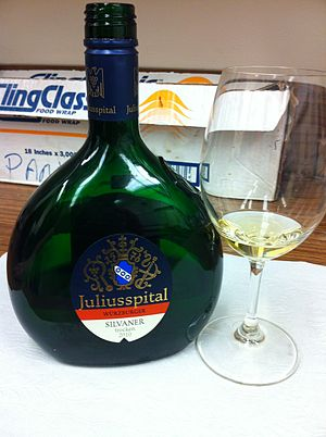 Franconia (wine region) - A Silvaner wine from Franconia.