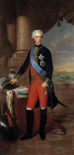 Prince Frederick of Hesse-Kassel - Image: Frederick, prince of Hesse Kassel, painted by Wilhelm Böttner, 1787