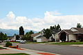 Free creative commons suburban middle class neighborhood in Layton, Utah (9394736640).jpg