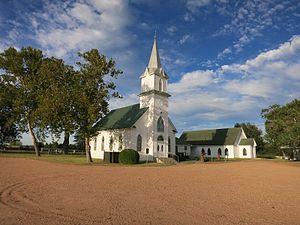 Frelsburg, Texas - Image: Frelsburg TX Trinity Lutheran