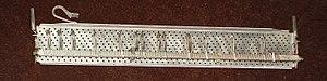 Tab key - Image: Friden 2201 tab rack