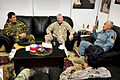 From left, Afghan National Army Brig. Gen. Ghulam Faroq, the deputy commander of the 215th Corps; U.S. Marine Corps Maj. Gen. John A. Toolan Jr., the commander of the International Security Assistance Force 120218-O-CU750-006.jpg